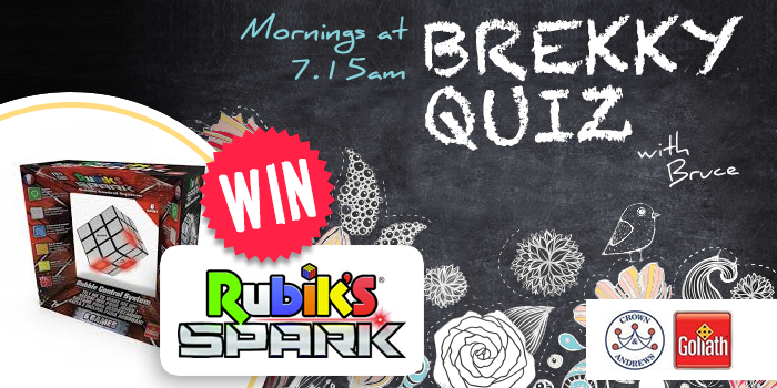 Win The SPARK with Bruce in the Quiz