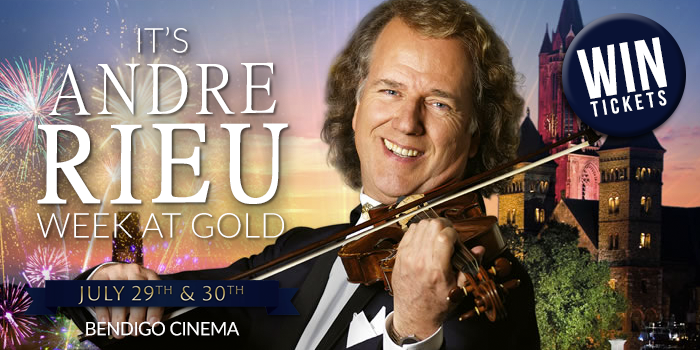Win A Double Pass to Andre Rieu