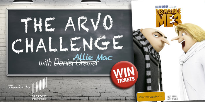 Win Despicable Me 3 on DVD - Arvo Challenge