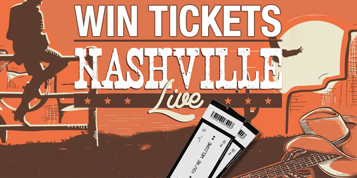 Win - Double Pass to Nashville Live