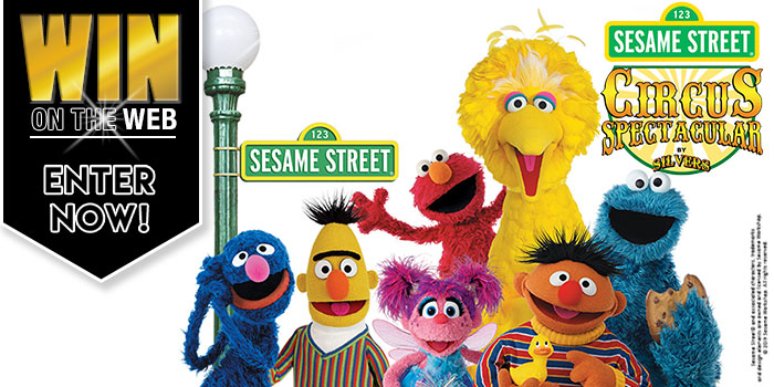 Win on the Web - Sesame Street Circus Spectacular by Silvers