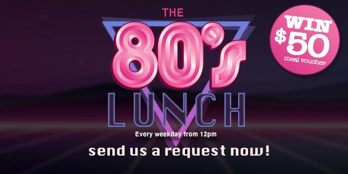 The 80's lunch