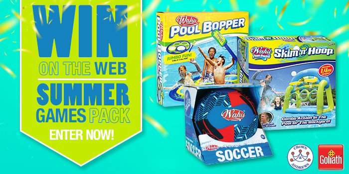 Win On The Web - Summer Pool Pack 05.02