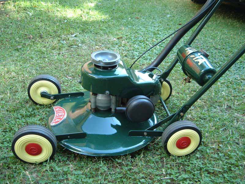 Gold Bendigo Amp Central Victoria The Victa Lawnmower Was